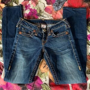 True Religion Johnny Big T Jeans size 25